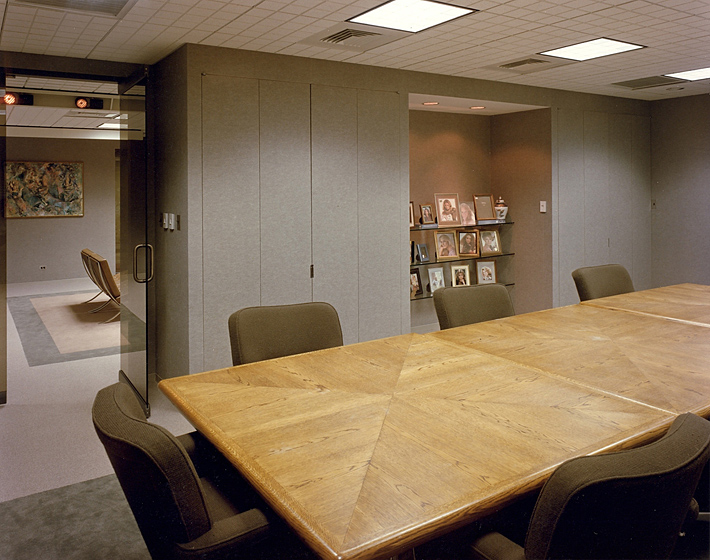 Intecraft Corporate Headquarters Photo 3 - Upholstered Walls, Product Display