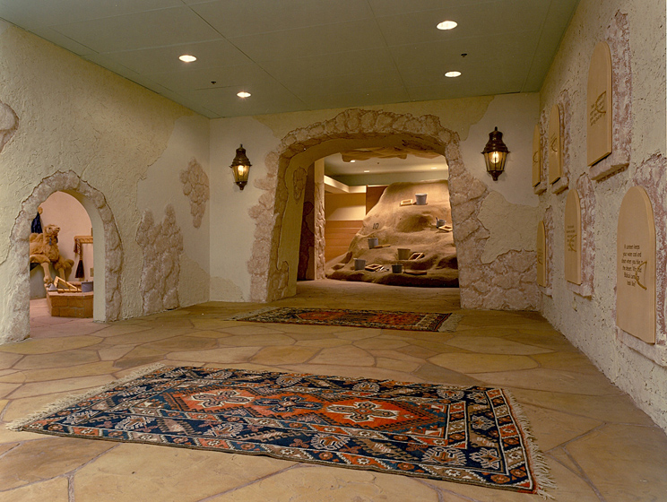 Artifact Center Photo 1 - Antique Lighting, Simulated Natural Stone Flooring