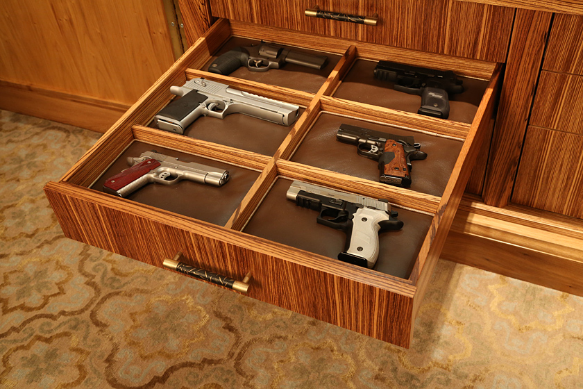 Gun Display Cabinet Photo 10 - Gun Display Drawers