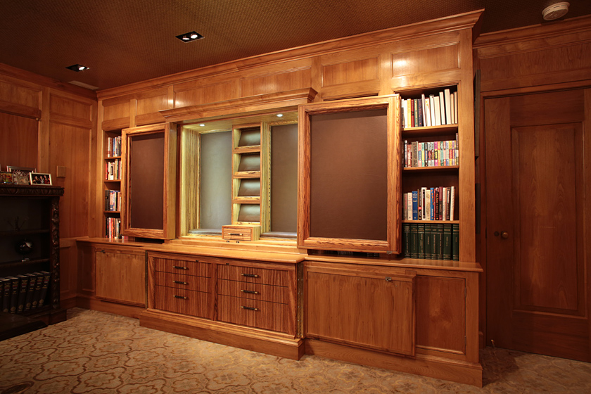 Gun Display Cabinet Photo 3 - Concealed LED Lighting