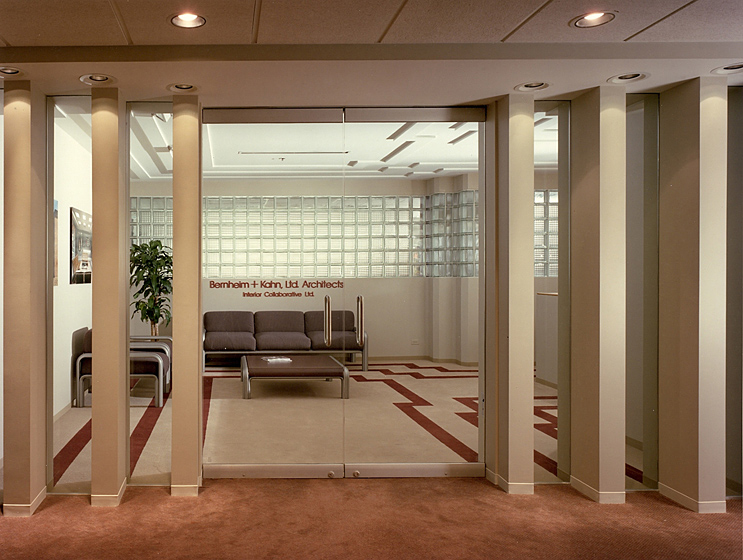 Architect's Offices & Studio Photo 1 - Custom Pier, Glass Panel Entry