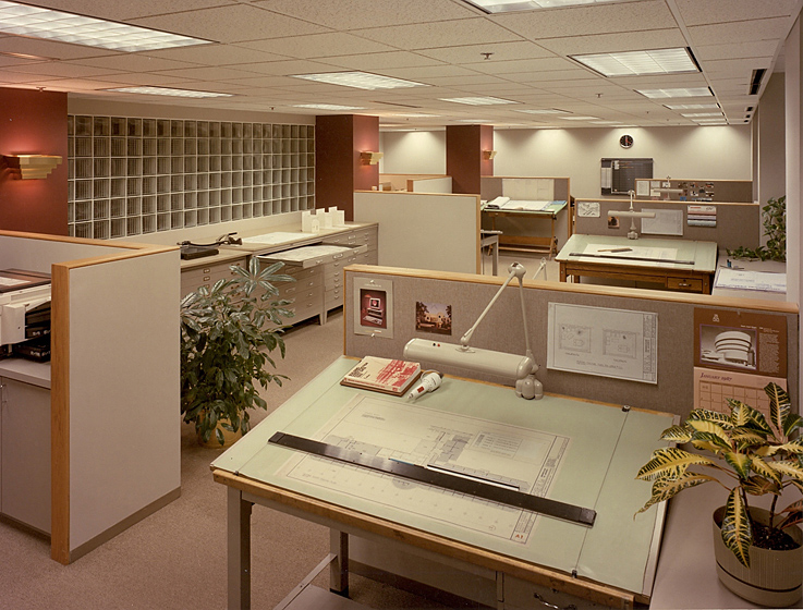 Architect's Offices & Studio Photo 4 - Custom Workstations